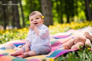 Бебешка сесия на открито
