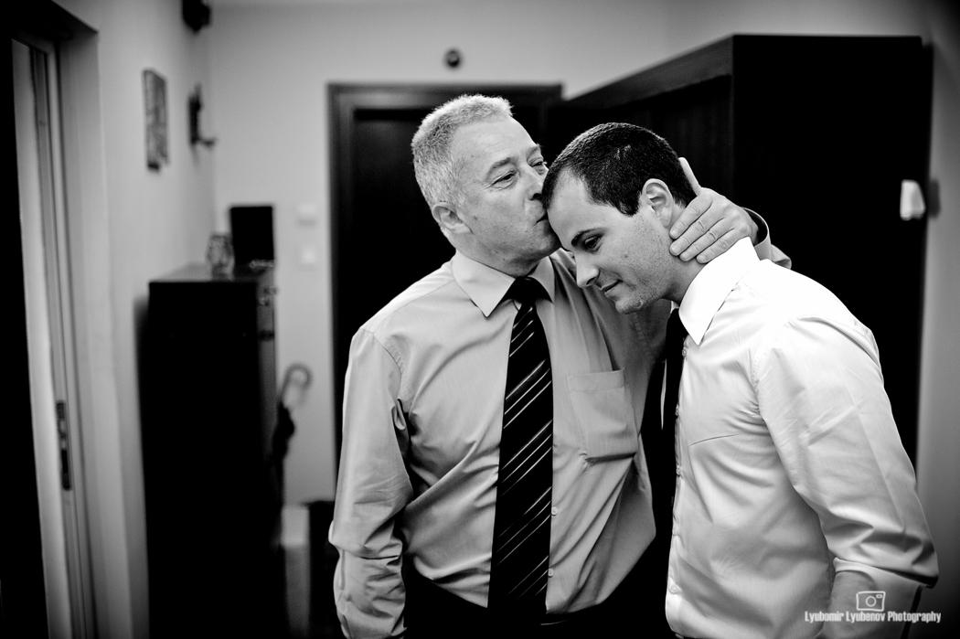 Баща и син. София, България