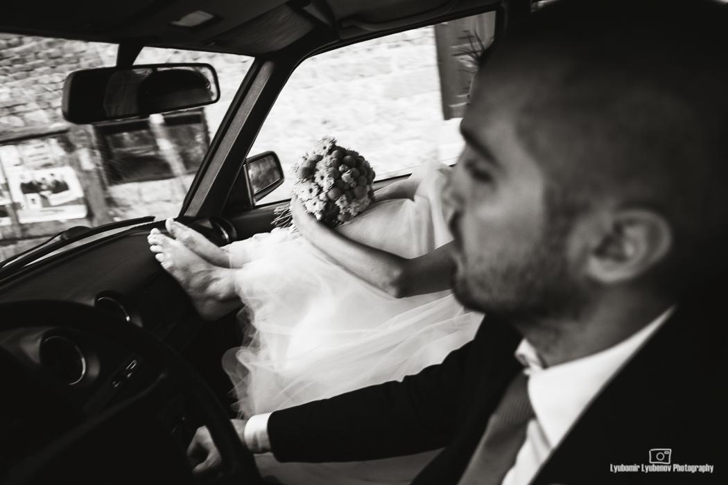 Just married. Сандански, България
