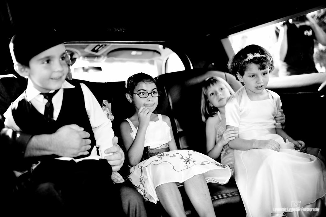 Когато споделиш лимузината с децата. София, България